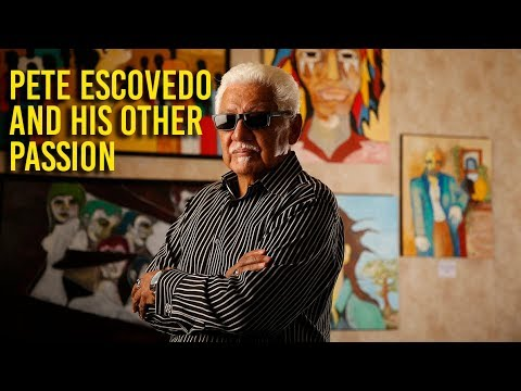 Pete Escovedo talks about his art