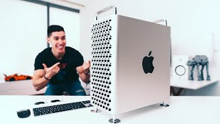 Mac Pro 2019 UNBOXING and SETUP!