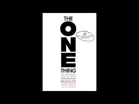 The One Thing Audiobook Summary