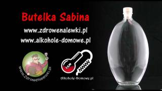Butelka do nalewki Sabina