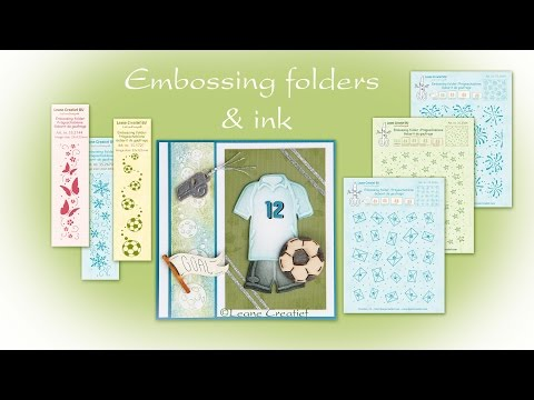 Adding Colour To Embossing Folders