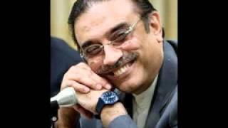 Asif Ali Zardari by Khalil Kamtar.flv