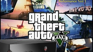 GTA V (PC) Alienware Alpha performance test. Gameplay