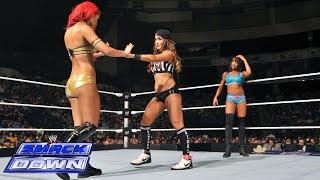 Eva Marie vs. Alicia Fox - Special Guest Ref Nikki Bella: SmackDown, July 18, 2014