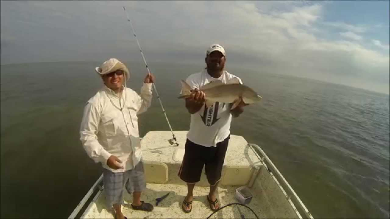 Fishing At Arroyo City, TX