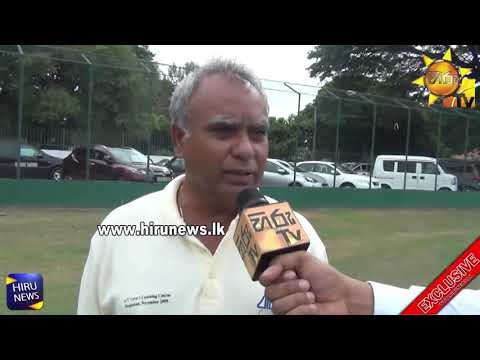 The one man show in Sri Lanka Cricket