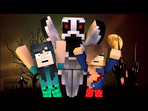 SPOOKY SLUMBER PARTY!   Minecraft Adventures - Haunted Mansion (Minecraft Roleplay)
