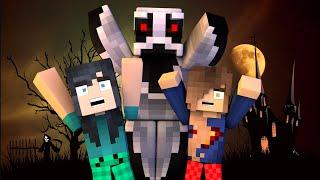 Minecraft - SPOOKY SLUMBER PARTY! (Minecraft Roleplay)