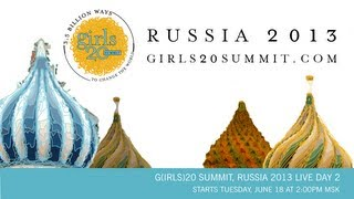 G(IRLS)20 SUMMIT JUNE 18, 2013 - OPPORTUNITY LOST: THE COST OF EARLY FORCED MARRIAGE