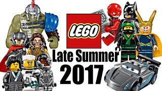 Top 10 Most Wanted LEGO Sets of Late Summer 2017!