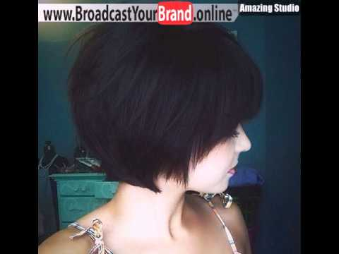 Wispy Chin Length Bob Hairstyle Youtube