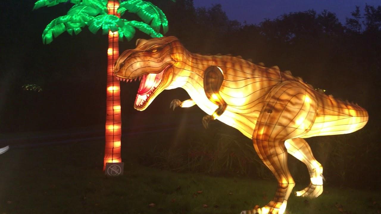 Chinese Lantern Festival--Dinosaurs - YouTube