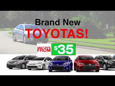 Allen Toyota Rental Car Commercial - YouTube