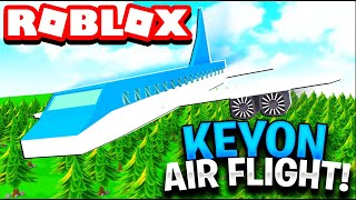 LIFE AS AN PILOT IN ROBLOX KEYON AIR!