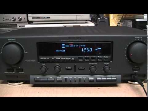 philips fr930 mkii receiver with simulated am stereo youtube rh youtube com Sony Stereo Receiver Yamaha Stereo Receiver