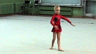 Художественная гимнастика Одинцово Сайко Соня 5 лет