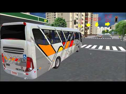 Euro Truck Simulator 2 - Mapa EAA BUS Só Ônibus Top(Volante Logitech G27) from YouTube · Duration:  15 minutes 19 seconds