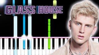 Machine Gun Kelly – Glass House (Piano Tutorial) By MUSICHELP Video