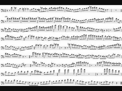 Bob McChesney 'Leave It To Beaver' Trombone Solo Transcription