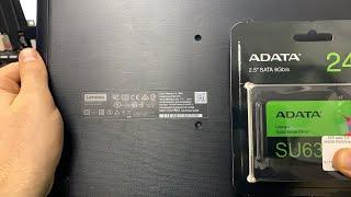 Ноутбук Lenovo ideapad 110-14IBR завис
