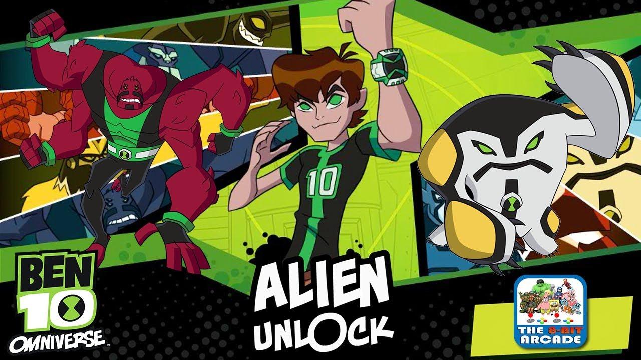 ben 10 omniverse game - alien unlock