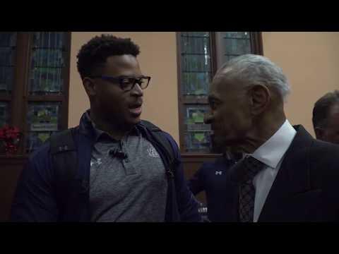 Auburn Football visits Martin Luther King Jr. National Historic Site