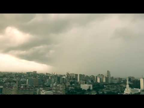 AMAZING Tropical Cyclone Dineo time lapse video  Cyclone Dineo batters Mozambique