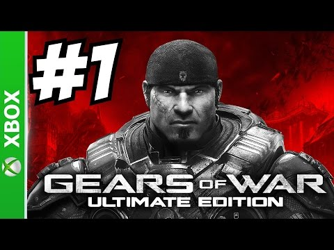 Gears of War Ultimate Edition Gameplay Walkthrough Part 1 Let's Play Playthrough 1080p 60 FPS