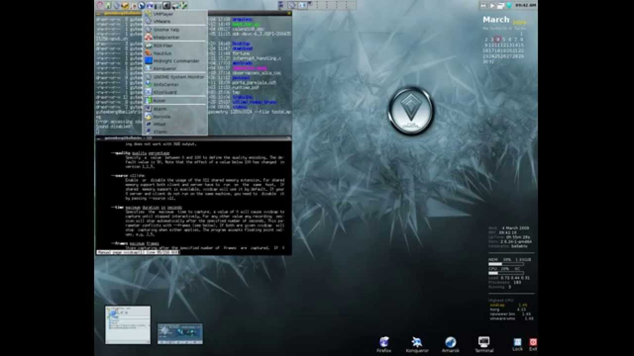 FVWM Crystal is the best Window manager  – Securitron Linux