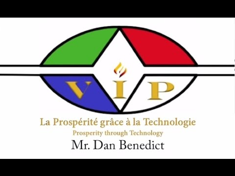 "VIP for RDCongo : Expert Dan Benedict Speaks About The Congo's ""Prosperity through Technology"""