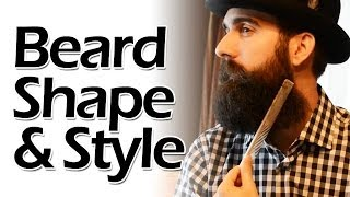 Discover Your Beard Shape and Style
