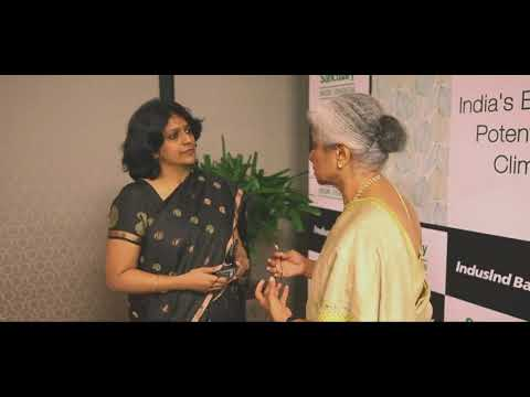 Usha Thorat Interview At IndusInd Bank Mumbai Headquarters