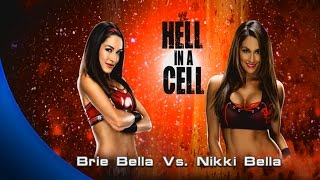 WWE 2K15 - Universe - Brie Bella Vs Nikki Bella