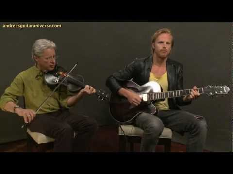 "Andreas Oberg and Darol Anger - ""Spain"""