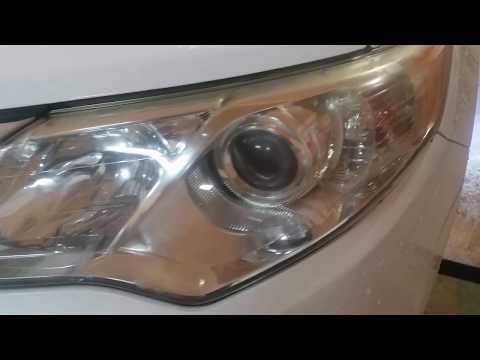 Headlight Restoration Using Baking Soda