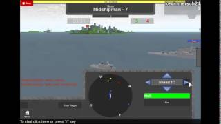 the roblox games: the naval battle part 2