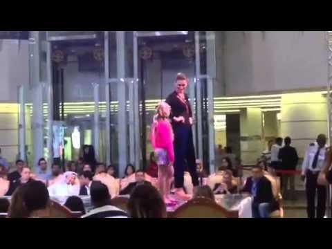 Fashion Show Ezdan Mall Doha Qatar Sep 2014