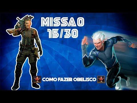 COMO Fazer Obelisco + 15/30 SEG Mercúrio/Cable. Qual Time?! - Marvel Future Fight