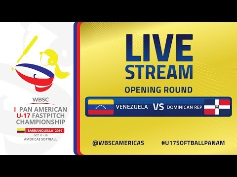 Venezuela v Dominican Republic - I U-17 Women's Softball Pan American Championship - Opening Round