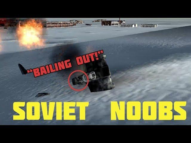 Gunship Sequel WW2 - Soviet Noobs (Wings of Duty)