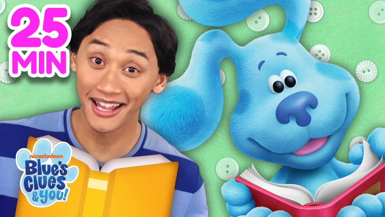 Story Time Party With Blue & Josh! 25 Minute Compilation   Blue's Clues & You!