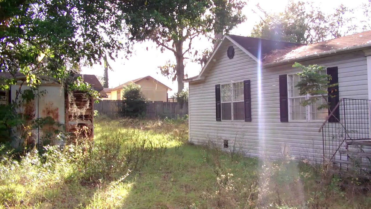 Abandoned Mobile Home Foreclosure Youtube
