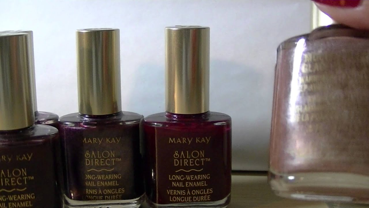 Older Mary Kay Nail Polish Collection - YouTube