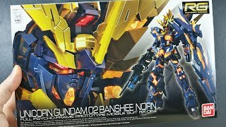 Here's the Real-Grade 1/144 scale Unicorn Gundam 02 Banshee Norn. T...
