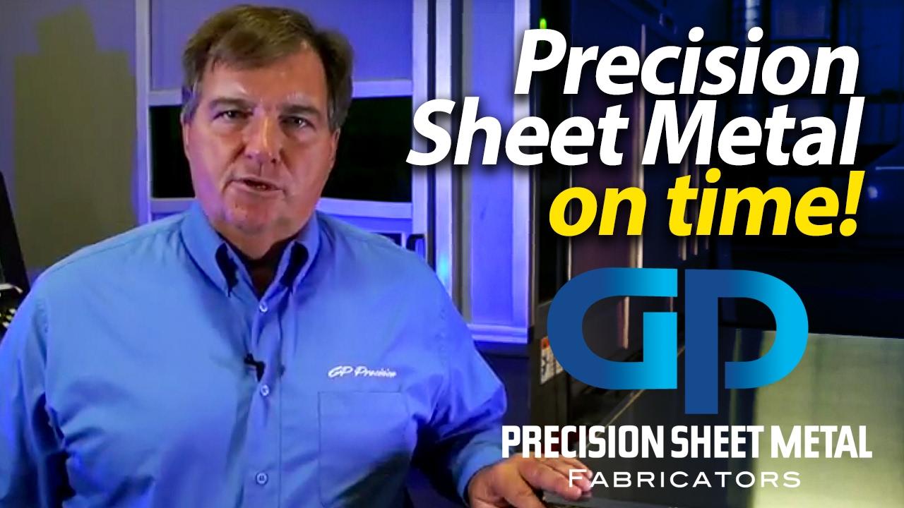 Precision Sheet Metal Fabricators - metal enclosures - metal housings - GP Precision sheet metal NJ