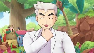 Log in to team up with Professor Oak & Mew in Pokémon Masters!