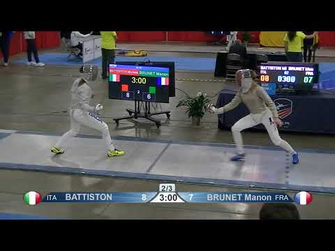 2019 Absolute Fencing Gear Salt Lake City Women's Sabre