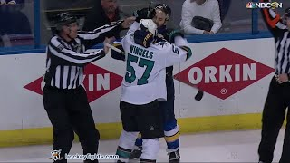 Tommy Wingels vs Kevin Shattenkirk May 23, 2016
