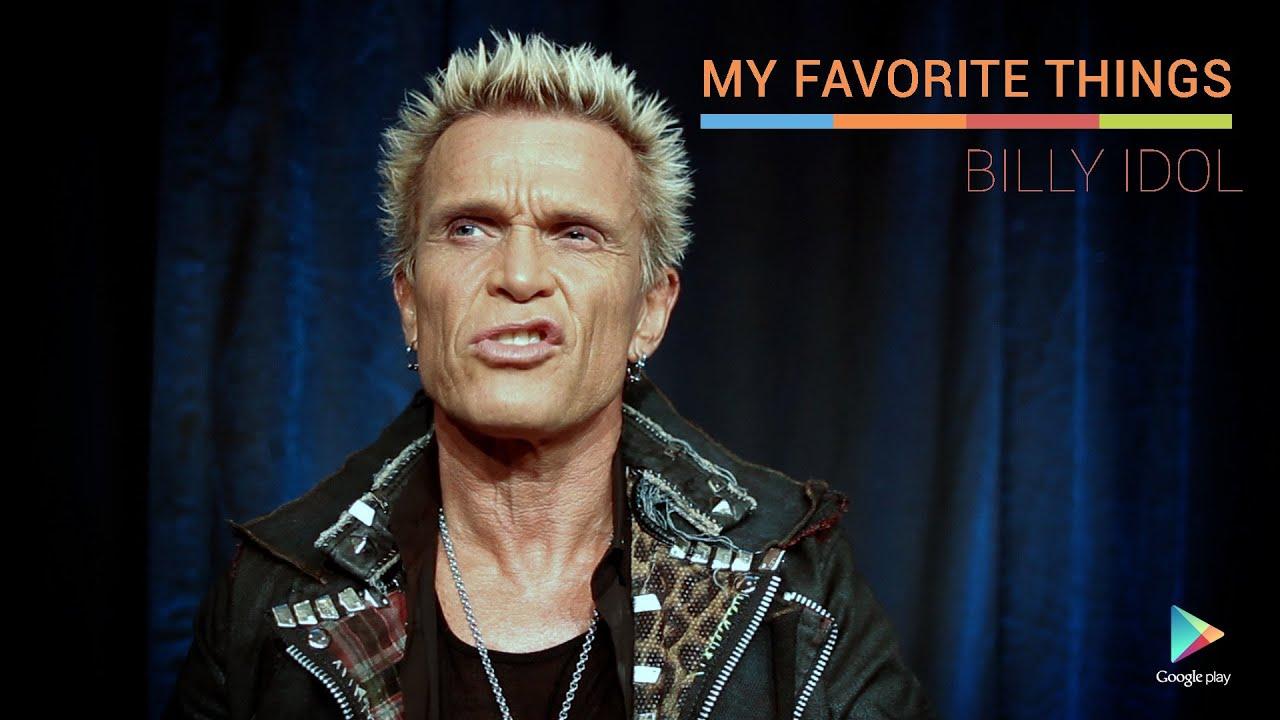 Billy Idol: My Favorite Things - YouTube