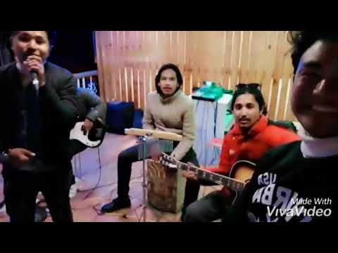 Whats up - 4non blonds cover by BLACK ROSE BAND pokhara